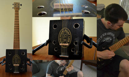 Cigar Box Guitar by wagn18