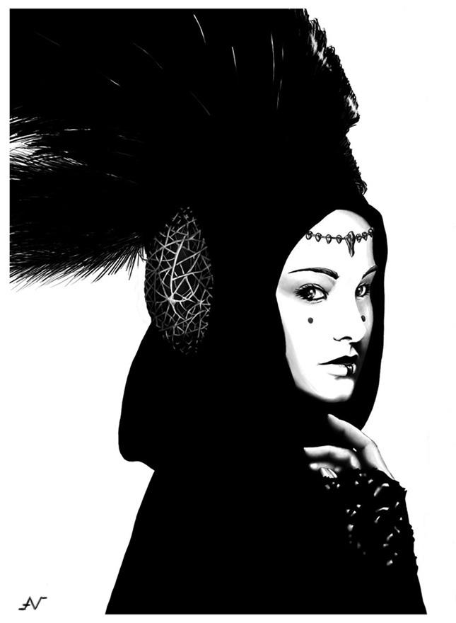 Reina Amidala by Naure