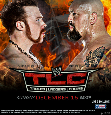 WWE TLC 2012 Poster by thetrans4med