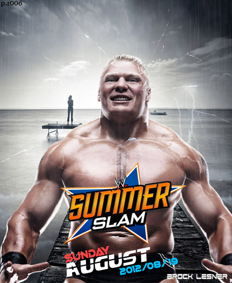 WWE SummerSlam 2012 Poster B.L by thetrans4med