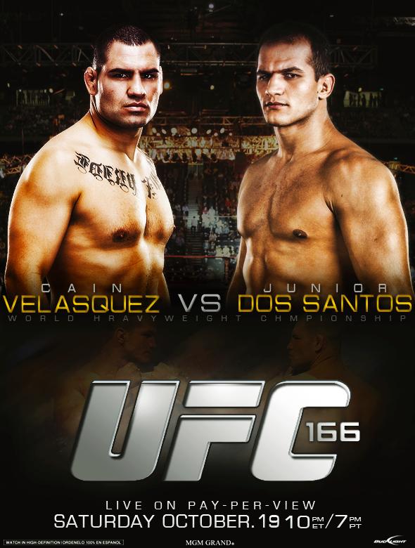 UFC 166 Poster - Velasquez vs Dos Santos by thetrans4med ...  UFC 166 Poster ...