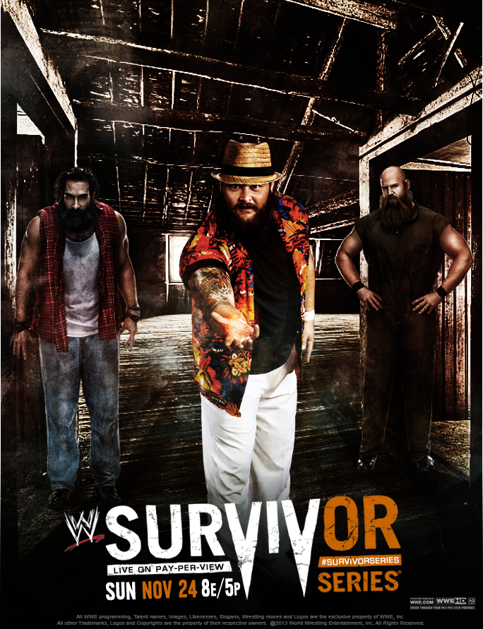 Wwe Survivor Series 2013 Poster Rebook Any PPV ...