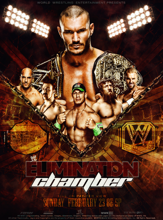 WWE Elimination Chamber 2014 Poster by thetrans4med