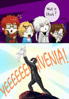 mystic messenger: Wut is that? by janevindom
