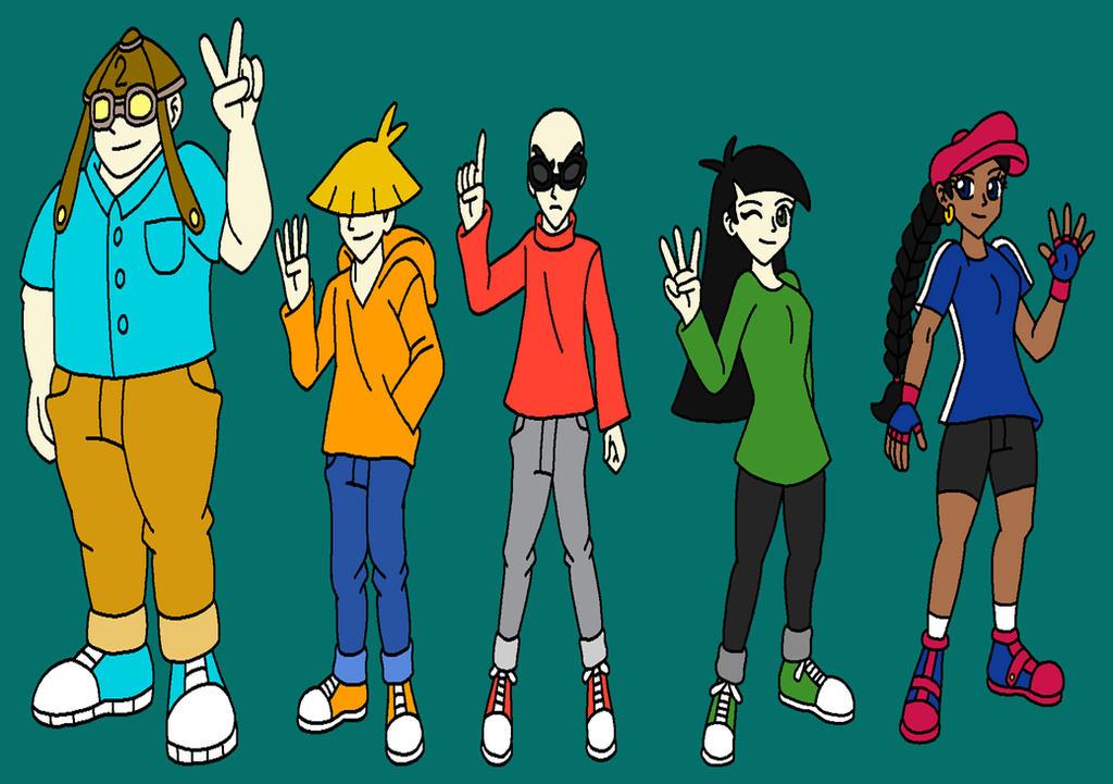 Kids Next Door Anime Style By Sammychan816