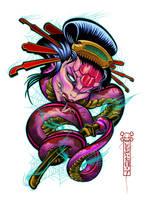 geisha snake