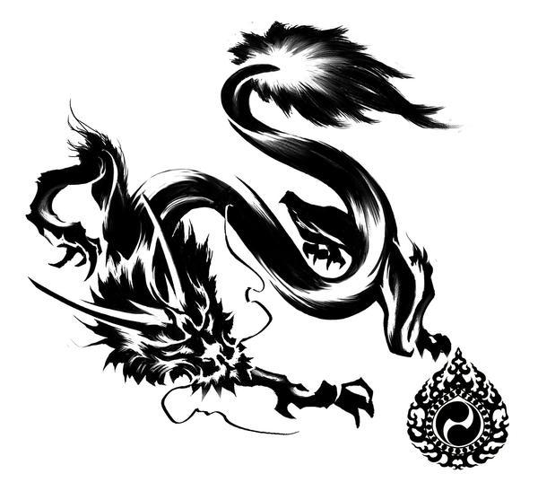 Dragon Graphic Design Graphic Dragon by Quidamz