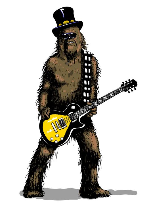 Votre rôle au sein de l'Asylum. Wookie_on_Guitar_by_b_maze
