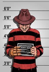 Usual Suspects - Mr. Krueger by b-maze