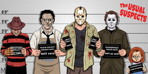 Usual Suspects Slasher Edition