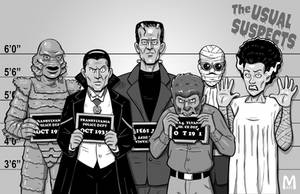 Usual Suspects - Classic by b-maze