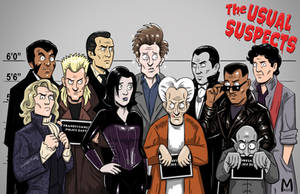 Usual Suspects - Vamps color by b-maze