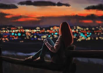 study nightlights by MerryMei