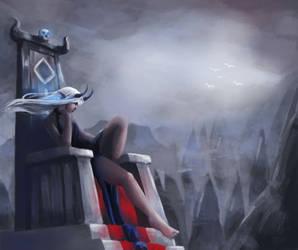 Lonely Demon Empress by MerryMei