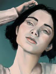 Portrait Study by MerryMei
