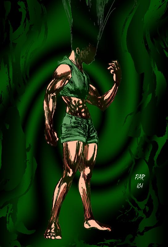 Gon transformation copie by ands77 on deviantart for En hunter x hunter