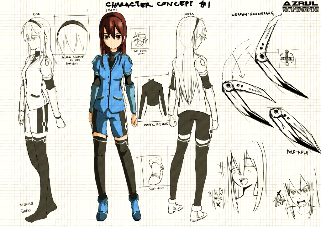 Character Design And Concept Art : Character concept design by yomuyat on deviantart