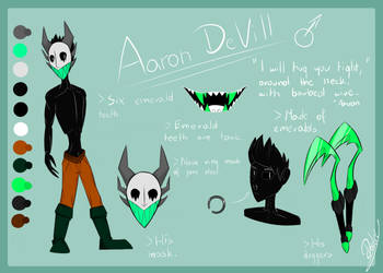 Aaron Reference by DarkyKotel57