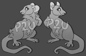 P2U Rat Base - $1 by sundustboy
