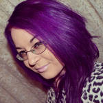 Dark Brown Dyed Hair To Bright Purple + How To