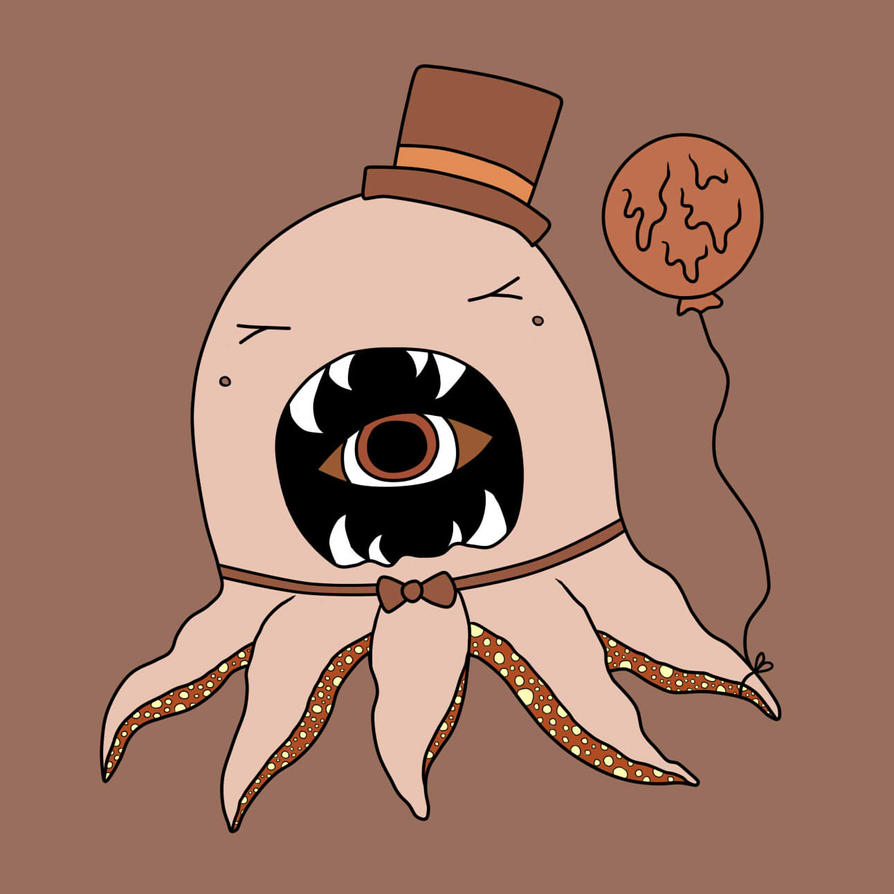 coffee monster by elyxian on deviantart