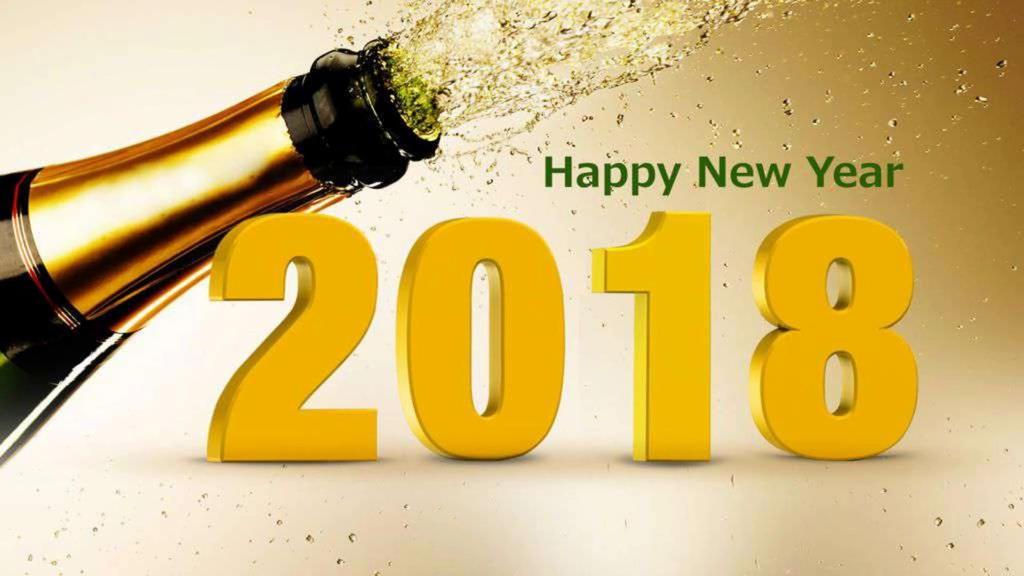 Happy New Year 2018 by havirow