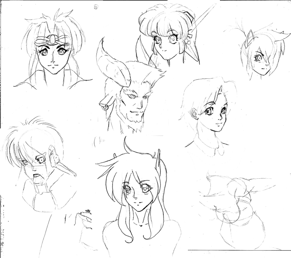 Character Dump by Shen-fn-Woo