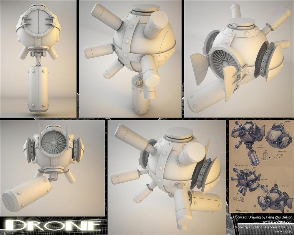 Drone by jurX-CG