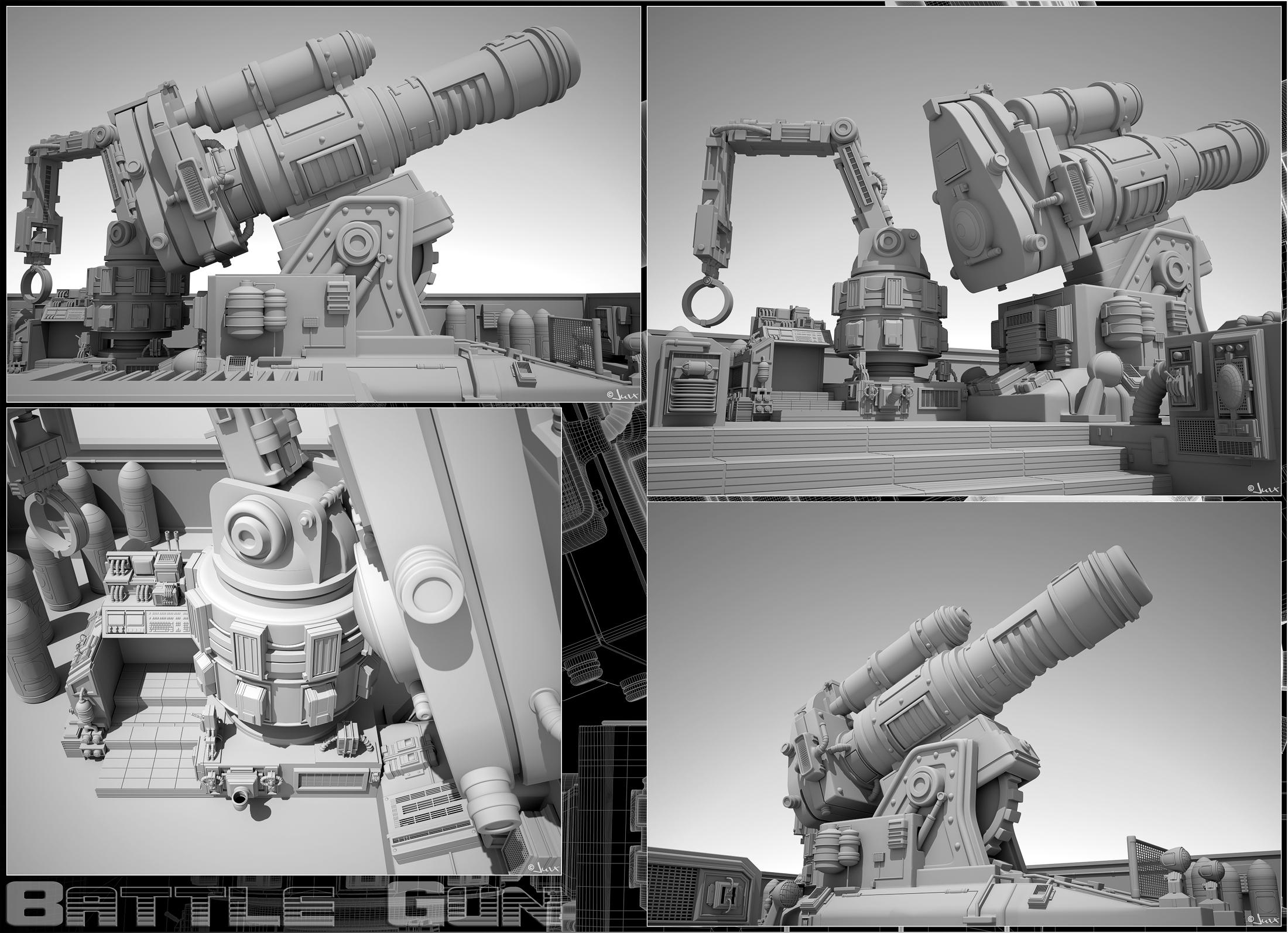 Battle Gun by jurX-CG