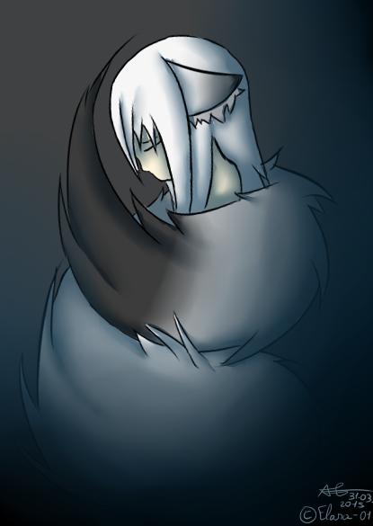 sad Elana cat by Elana-01