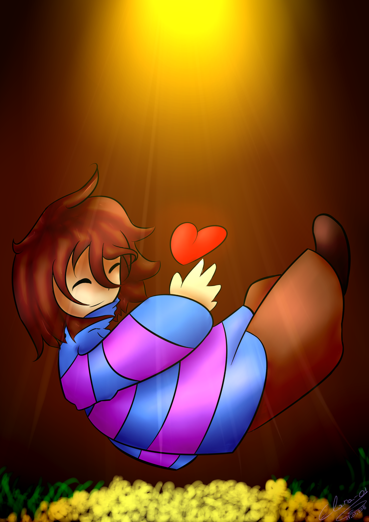 Undertale - Frisk by Elana-01