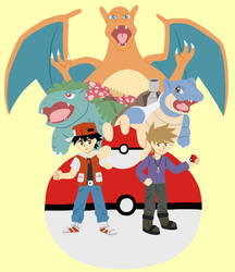 Pokemon Official Illustration Redraw