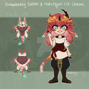 [Mod Adopt] Strawberry + Harlequin CLOSED