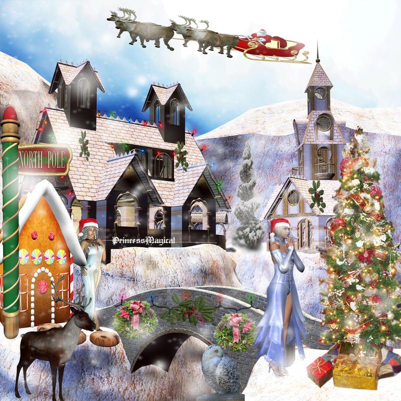 A Faerie Christmas by PrincessMagical