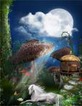 Magical Mushroom Woods by PrincessMagical