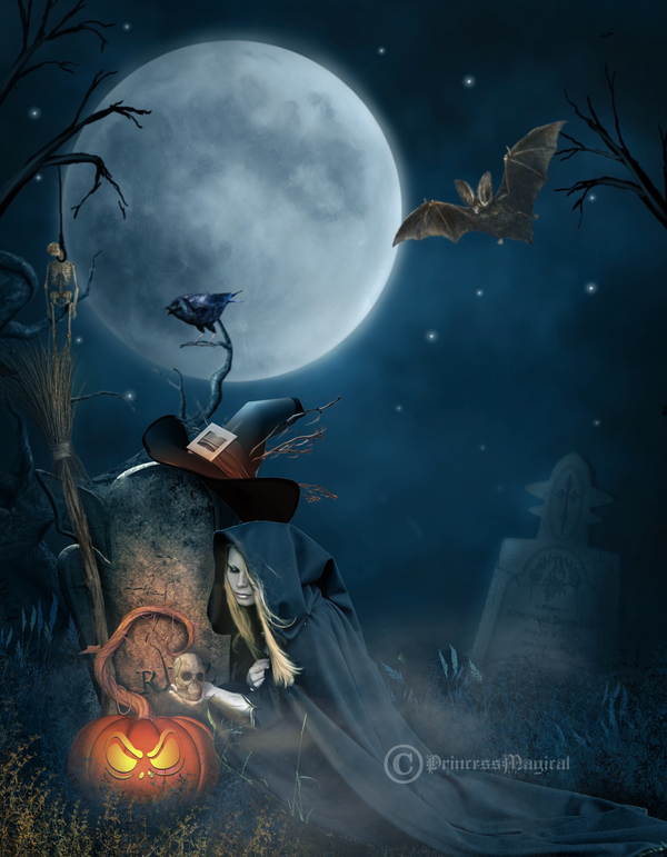 In The Halloween Night by PrincessMagical on DeviantArt