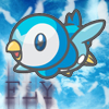 Piplup fly by chasechan2050