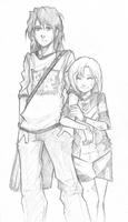 Allie and Abel by H0lyhandgrenade