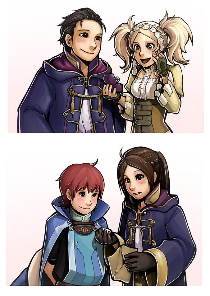 the gallery for gt fire emblem awakening frederick and lissa