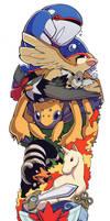 Colour Pokemon Sleeve