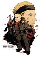 MGS3: Snake Eater by H0lyhandgrenade