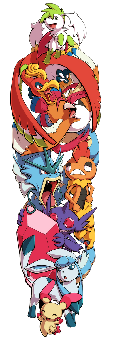 Pokemon Sleeve 11 by H0lyhandgrenade