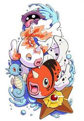 Water Pokemon Tattoo