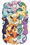 Eeveelutions - Pokemon Sleeve 14