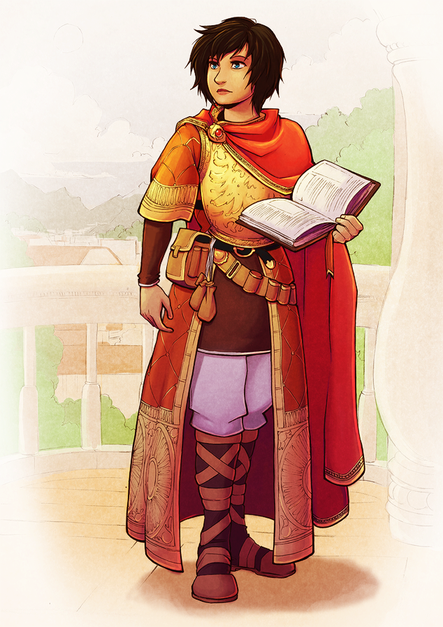 Scholarly Mage by H0lyhandgrenade