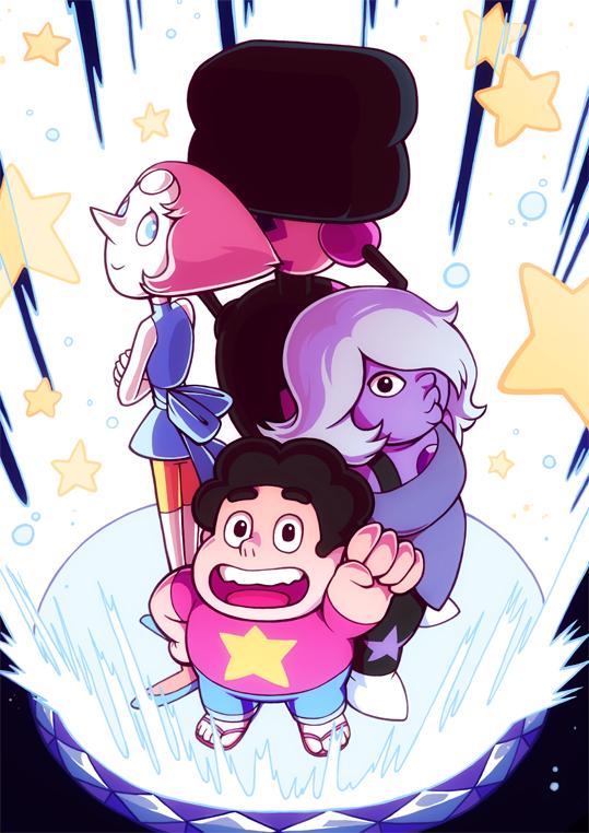 Steven Universe Warp Pad by H0lyhandgrenade