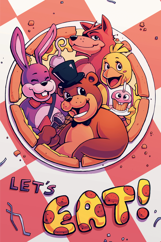 Let's Eat! by H0lyhandgrenade