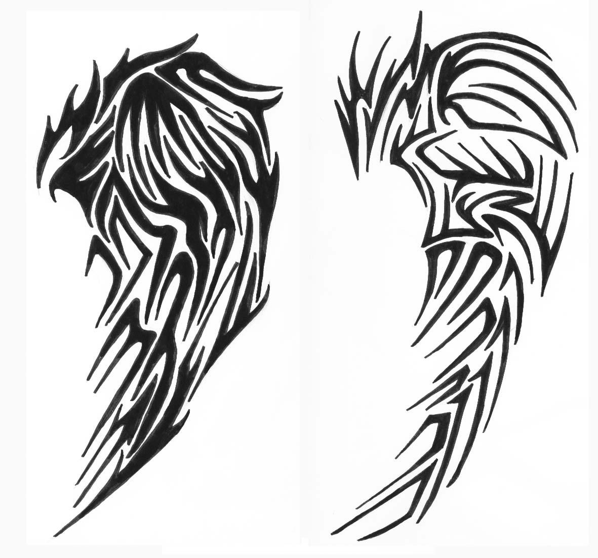 images of tribal wings 2 by vexed jesus on deviantart wallpaper