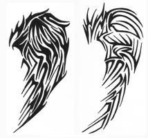 tribal wings 2 by vexed-jesus
