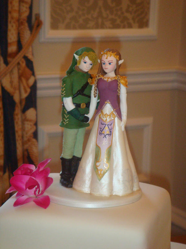 Link and zelda wedding